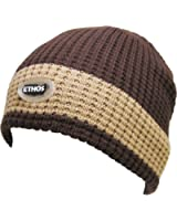 Thick & Warm Beanie With Inner Fleece Knitted Winter Hat
