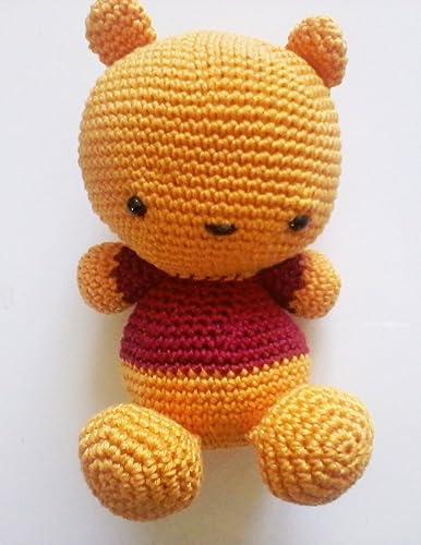 POOH AMIGURUMI FREE PATTERN.pdf | Kawaii crochet, Crochet disney ... | 500x386