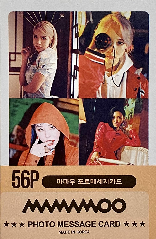 FANCY105 Kpop Mini Post Card Photocards - 56p (MAMAMOO)