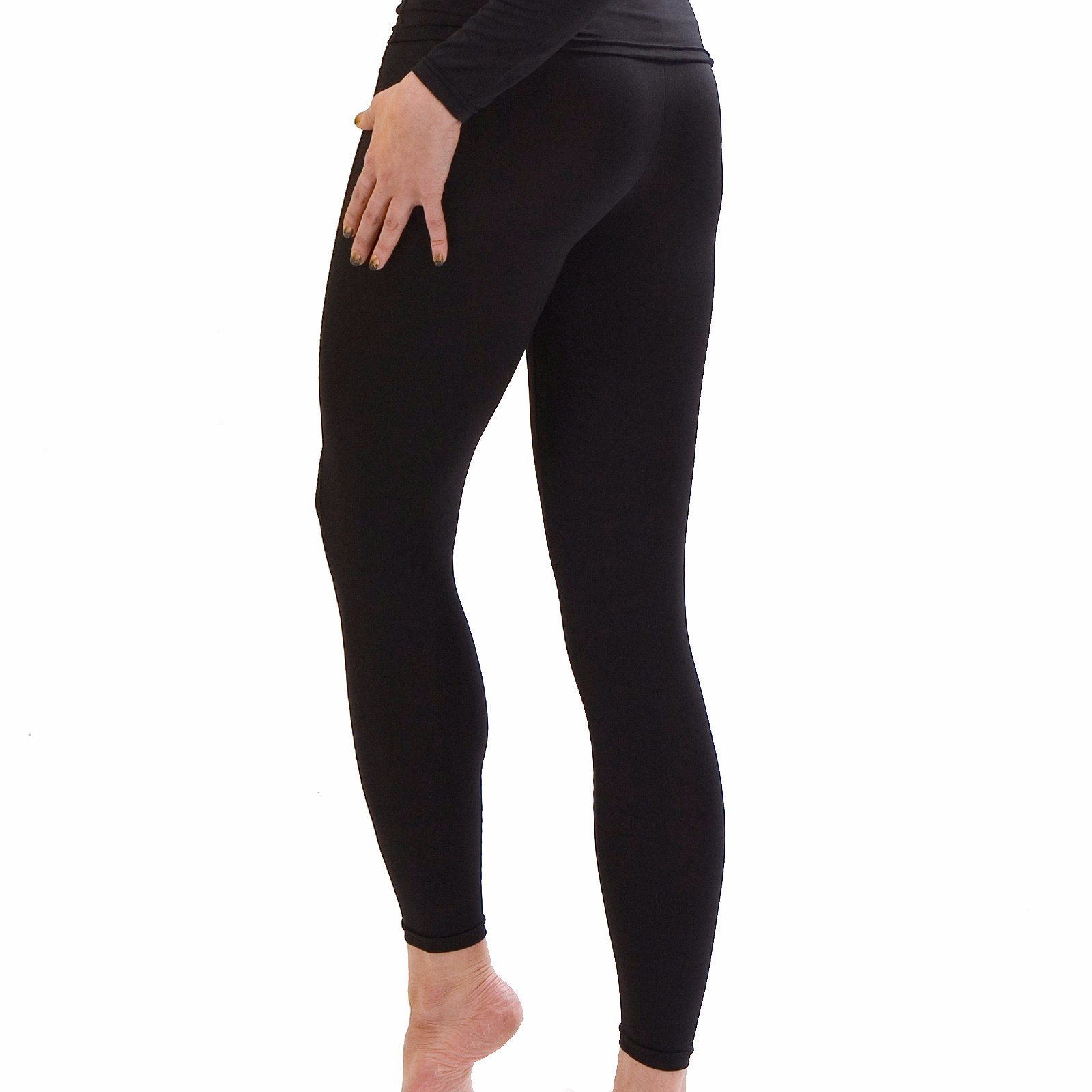 Women Thermal Underwear Pants Leggings Tights Base Layer Compression Bottoms NPW S by Henri maurice (Image #4)
