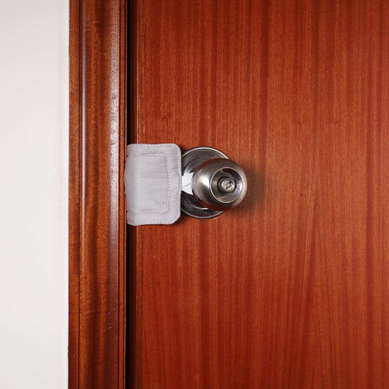 Amazon.com: Silenciador de puerta para puerta de guardería ...