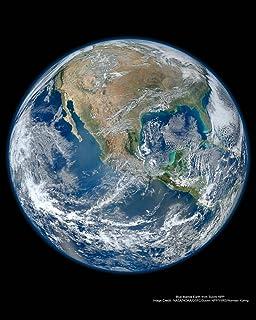 amazon com earthrise earth rising over moon horizon poster 24 x