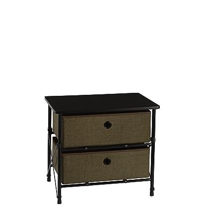 RiverRidge Home Products 16 001 Organizer Storage Bins, Brown