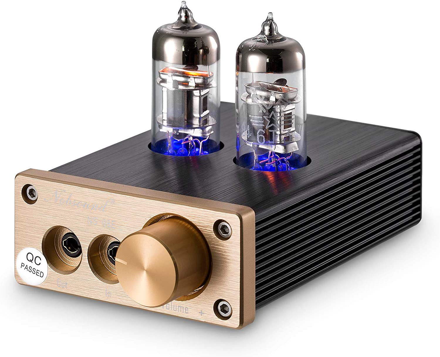 Output Protection for Headphone Audio Stereo Integrated Tube Amplifier HiFi SMSL T2 2X6J9 Super Low Ground Noise Vacuum Tube Headphone Amplifier