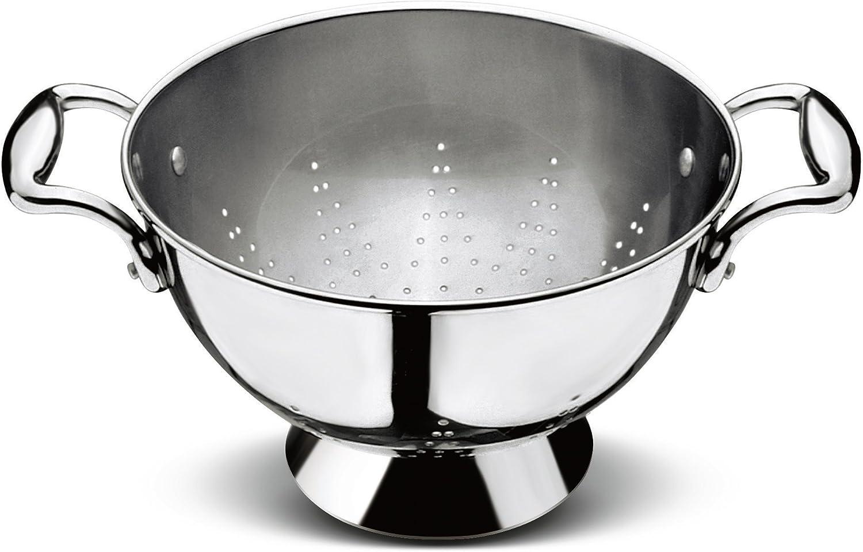 Stainless Steel Diameter 24 cm Lagostina Every Saucepan with 2 Handles
