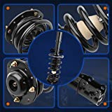 Front Pair Complete Strut and Spring Assembly for