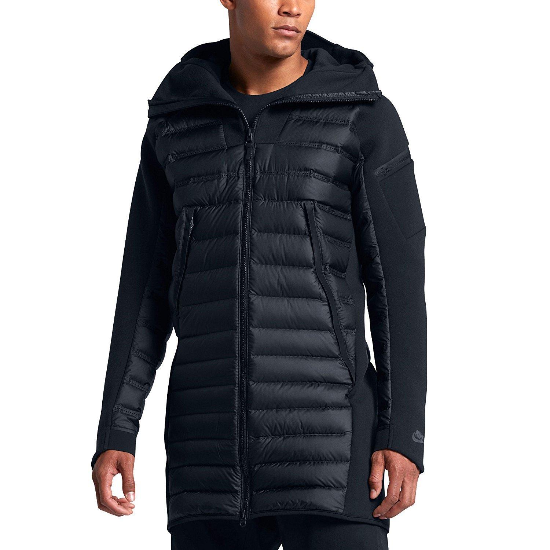 ba737d893 Amazon.com: Nike Sportswear Tech Fleece AeroLoft Men's Down Parka ...