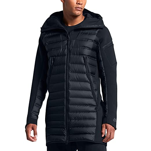 5791992565d7 Amazon.com  Nike Sportswear Tech Fleece AeroLoft Men s Down Parka ...