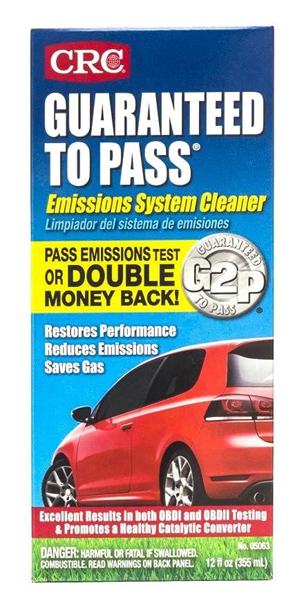 Emissions Testing Spokane >> Amazon Com Crc 05063 Guaranteed To Pass Emissions Test Formula 12