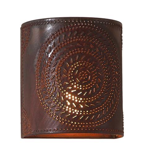 Amazon.com: Cincel lámpara de luz en rústico lata: Home ...