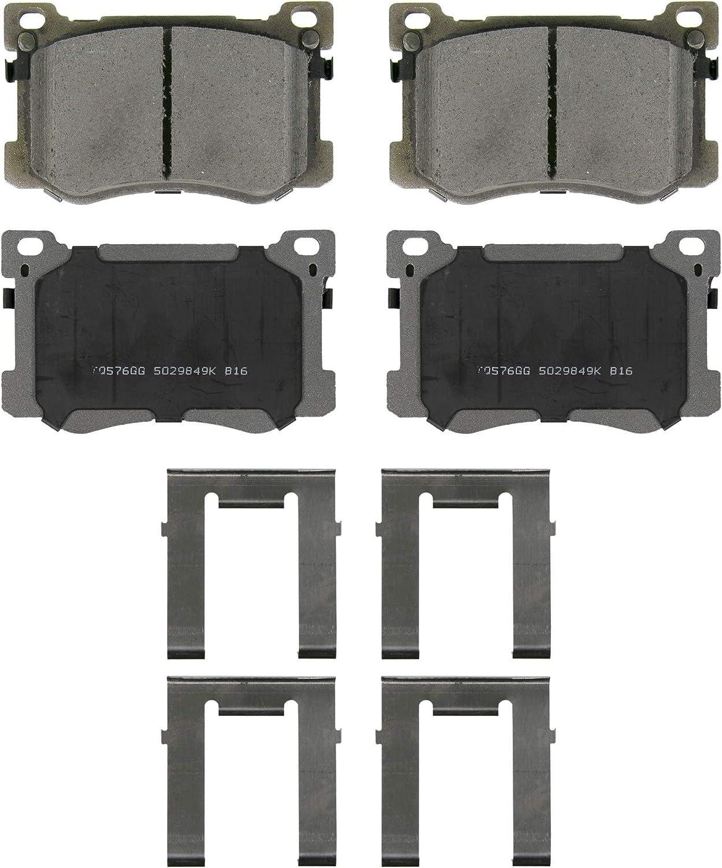 Wagner ThermoQuiet QC1799 Ceramic Disc Brake Pad Set