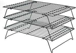 Stackable 3 Tier Cooling Rack