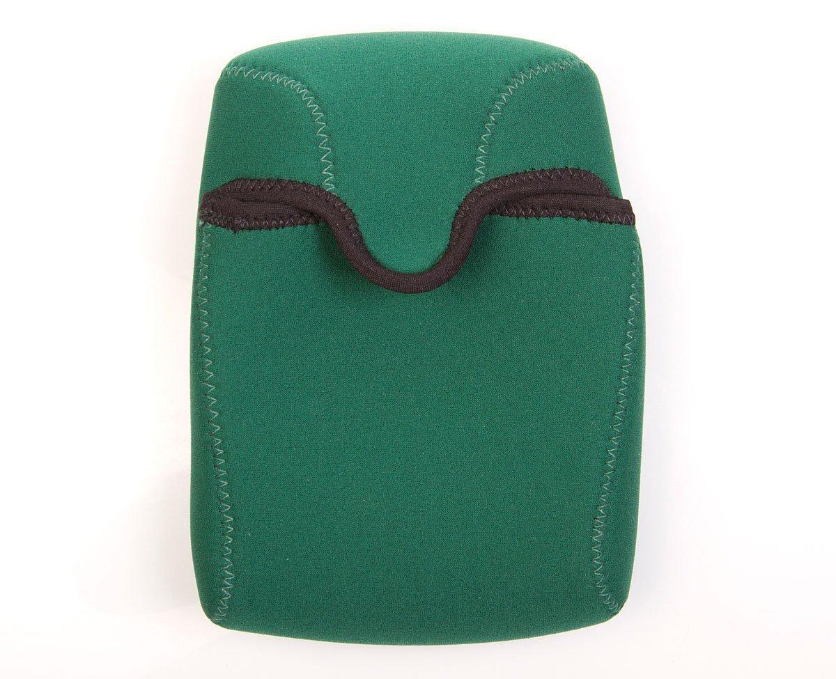 OP/TECH USA Bino Roof Soft Pouch - Padded Binocular Case, Medium (Forest)