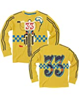 Wes and Willy Big Boys' L/S Dirt Bike T-Shirt