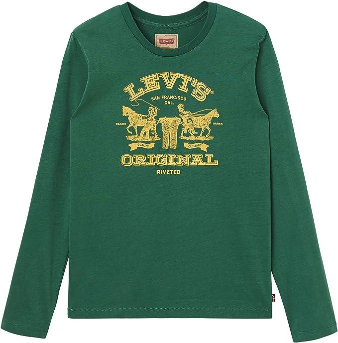 Camiseta Levis Greenhor Verde 6A Verde: Amazon.es: Ropa