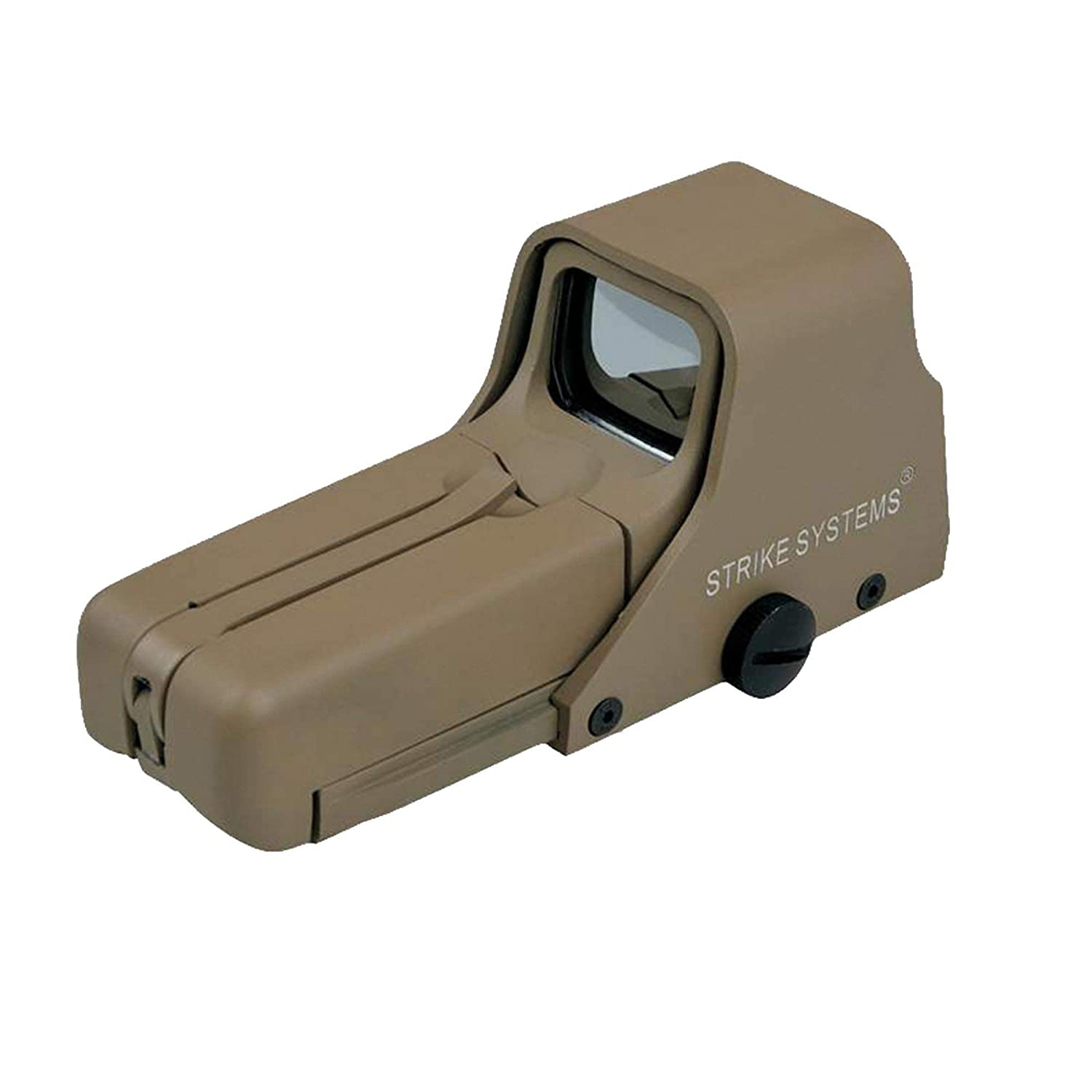 STRIKE SYSTEMS TAN HOLO SCOPE 552 RED DOT SCOPE AIRSOFT SCOPE theta optics