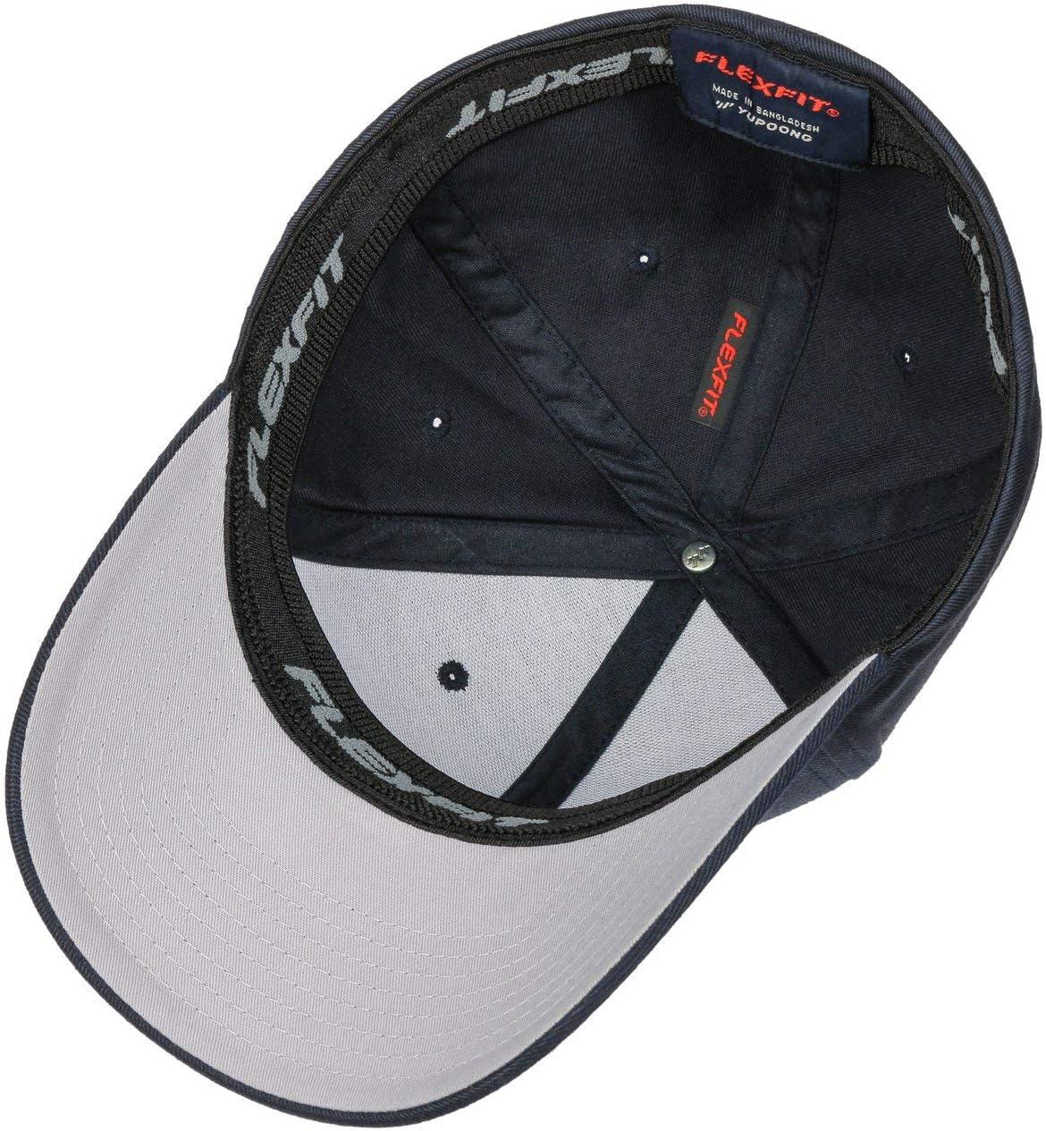 Parte Inferiore della Visiera Grigio Argento Navy Hutshopping Originale Flexfit cap