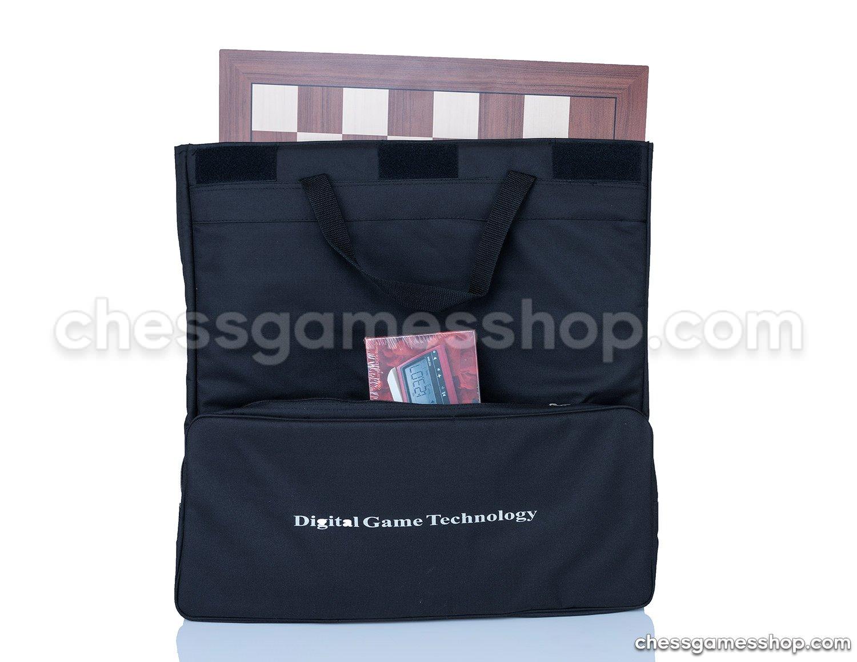いいスタイル DGT Chess Carrying Bag Carrying and BLACK for board, e-boards pieces, clock and accessories - suitable for e-boards or GO game to - BLACK B06XXGF3YM, カーアクセサリーストア【SOVIE】:1f56a248 --- nicolasalvioli.com