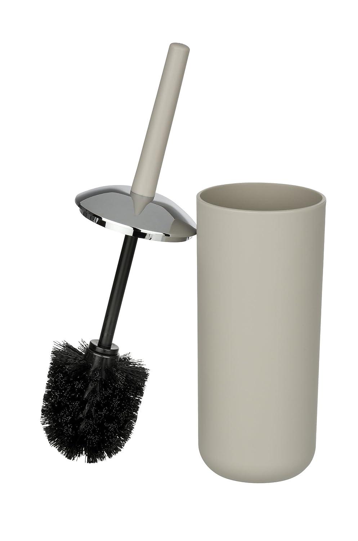 WENKO 22247100 Seifenspender Brasil Sp/ülmittel-Spender Fassungsverm/ögen: 0,32 l Fl/üssigseifen-Spender 7,3 x 16,5 x 9 cm Thermoplastischer Kunststoff TPE grau