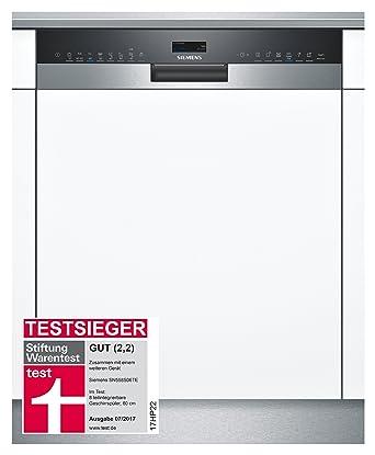 Siemens iQ500 SN558S06TE lavavajilla Semi-incorporado 14 cubiertos A+++ - Lavavajillas (Semi-incorporado