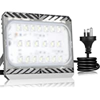 LED Security Lights, Super Bright 100W LED Flood Light Outdoor, Cree LED Source, 9000lm, 700W Equivalent, 3000K Warm White, Waterproof Yard Lights with AU Plug