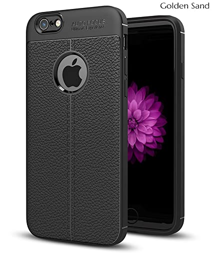 first rate 7d84c 5a4b3 Golden Sand Apple iPhone 6s / 6 Cover Premium Leather Texture Series Armor  Shockproof TPU Back Cover Case for iPhone 6s / 6 Mobile Royal Black