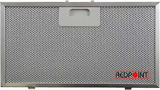 Filtro de aluminio para campana Elica 329 x 177 x 9 mm: Amazon.es: Hogar