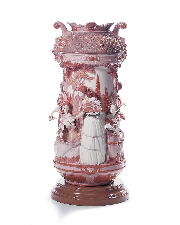 リヤドロ (Lladro) 淑女の庭(花瓶レッドRE-DECO) 01007032 B004BUTWEK