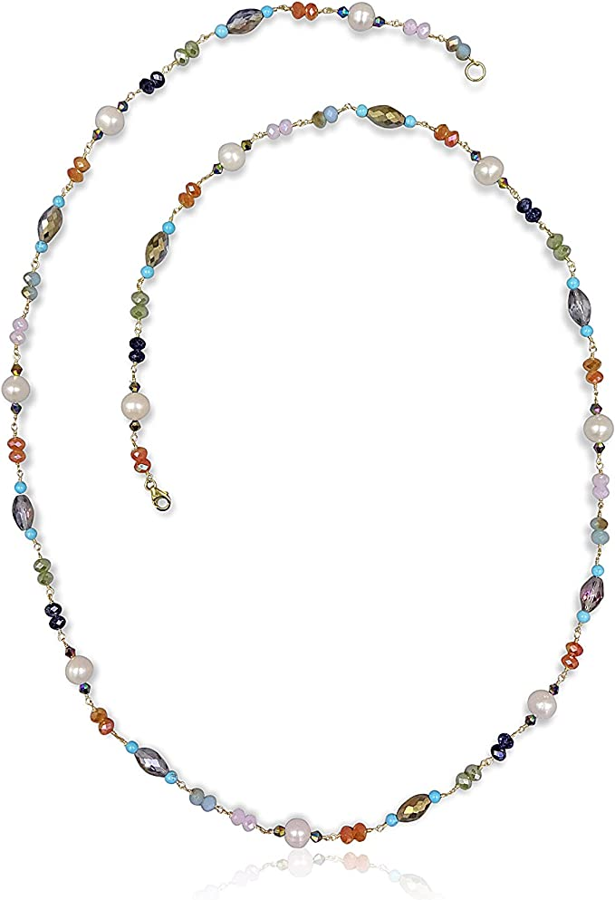 Freshwater Breeding Pearls Necklace #1177
