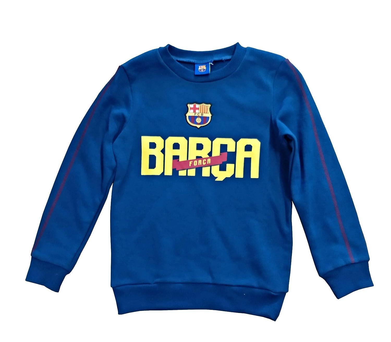 Sweater FCB - Azul Marino - Barca - Amarillo: Amazon.es: Ropa y accesorios