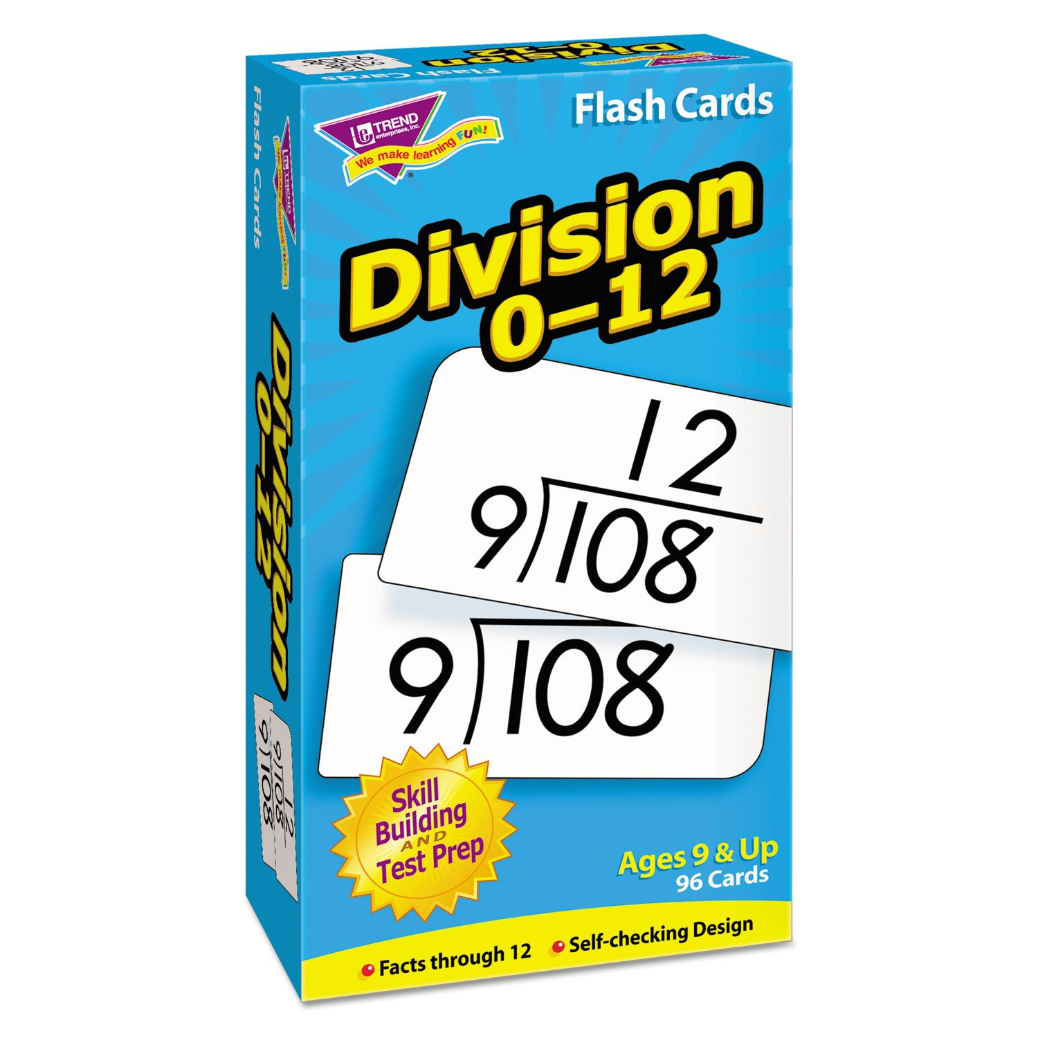Amazon.com: TEPT53106 - Trend Skill Drill Flash Cards: Toys & Games