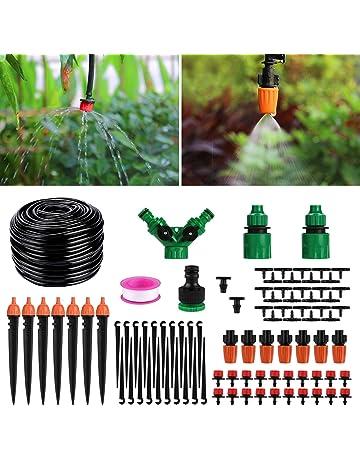 NLJYSH 100pcs Color : A Set darrosage de Jardin Irrigation Micro d/ébit goutteurs goutteur Irrigation Arroseur r/églable en Eau Dripper t/ête