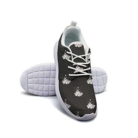 eea8b9c1a7f Amazon.com: OneFish Cute Border Collie Puppy Lightweight Breathable ...