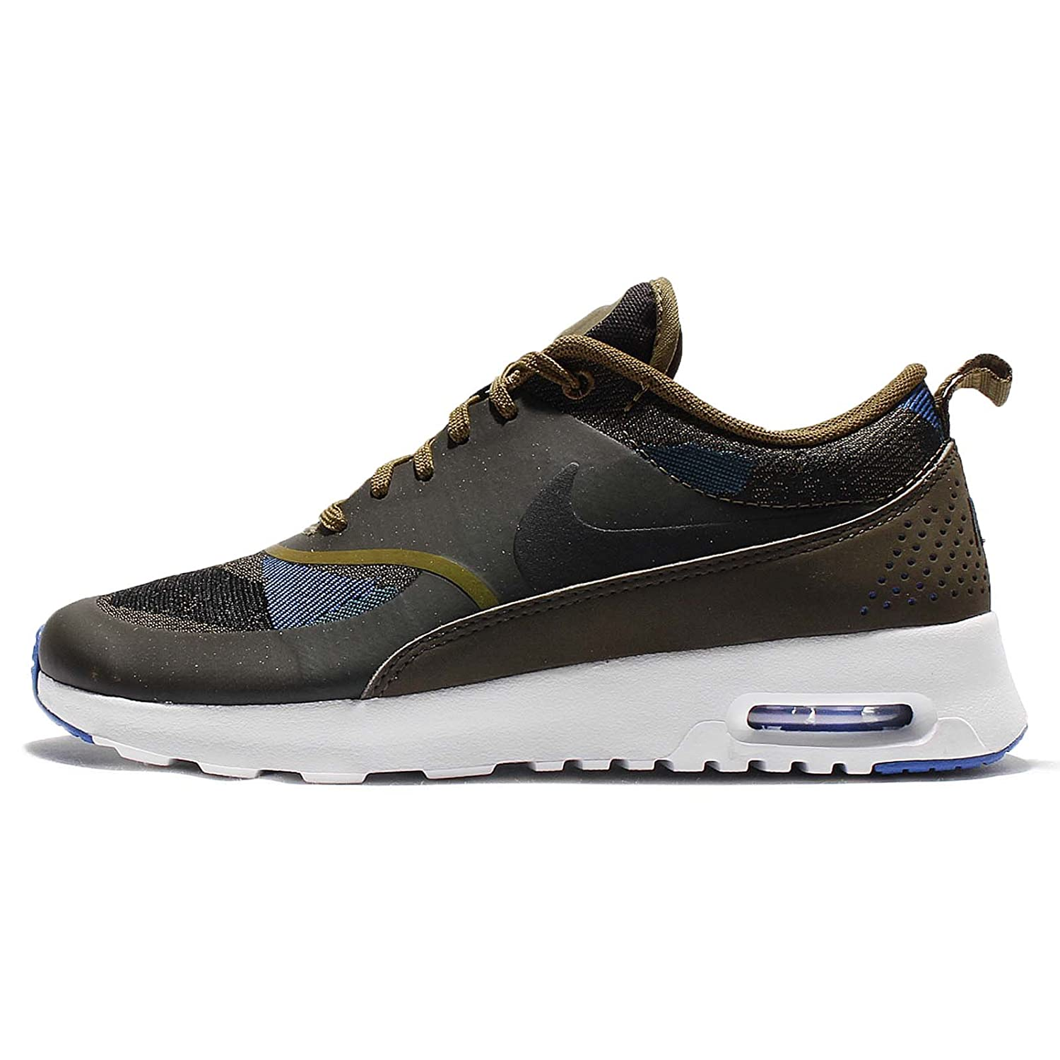 new style 0adcf 7288f Amazon.com  NIKE Womens WMNS Air Max Thea JCRD, Olive FlakBlack-Dark  Loden-Game Royal, 6 US  Fashion Sneakers