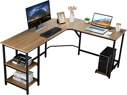 VANSPACE L-Shaped Desk Corner Computer Desk