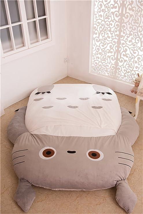 KMFEEL Mi Vecino Totoro Saco de Dormir sofá Cama Doble Cama Cama Doble colchón 120 *