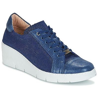 e165dc5cb9e375 Hispanitas Bora Bora Sneaker Damen Blau Sneaker Low  Amazon.de ...