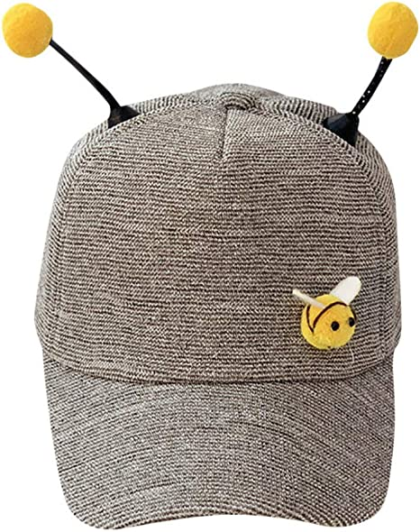 CXKNP Niños Polo Bee Cap Summer Cute Sun Sombrero Ajustable Color ...