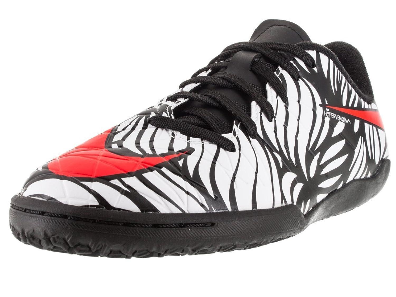 Amazon.com | Nike Kid's Neymar HyperVenom Phelon II IC Indoor Soccer Shoe  (Black, White) | Soccer