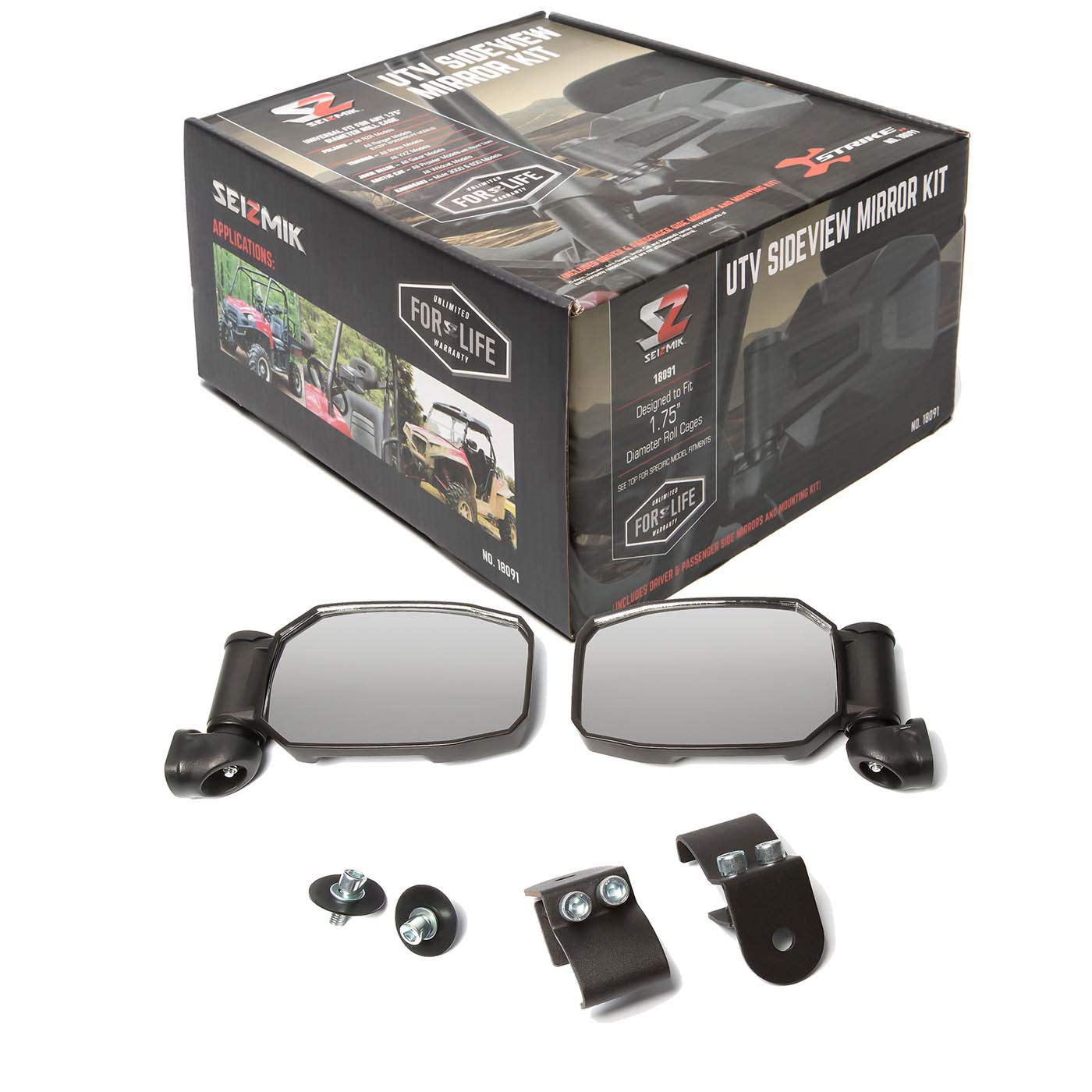Seizmik Pro-Fit Folding Side View Mirrors - CAN-AM DEFENDER HD10 2016-2018;