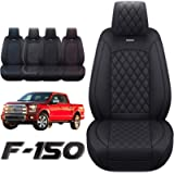 Aierxuan Car Seat Covers Front Set with Waterproof Leather, Automotive Vehicle Cushion Cover for Cars SUV Pick-up Truck…