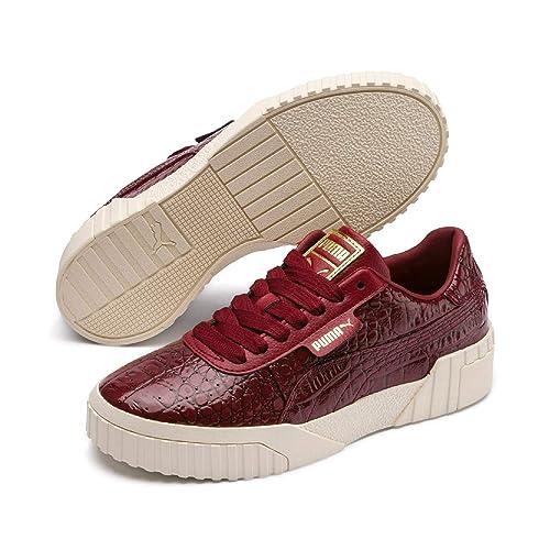 Puma Cali Croc Wns, Zapatillas para Mujer, Rojo Pomegranate, ...