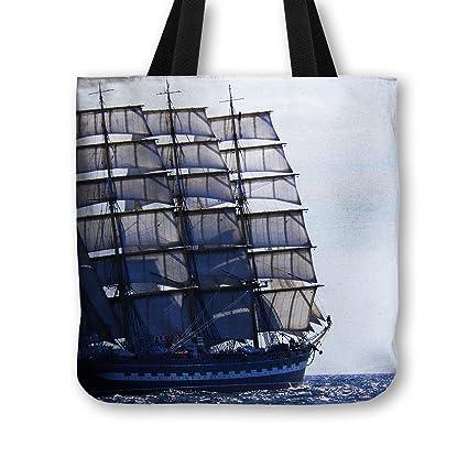 Bolsa de tela para practicar vela de barco 3 - No. bolso de mano Diseño