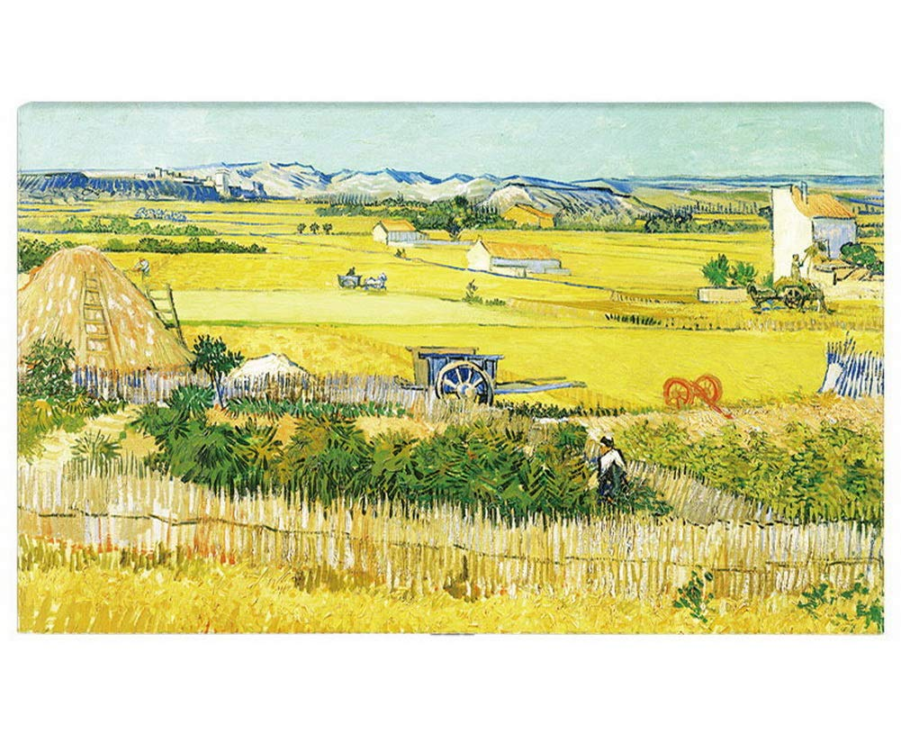 Gentle Meow Home Creative 50-Inch TV Cloth Decorative Dustproof Cover, Harvest Field