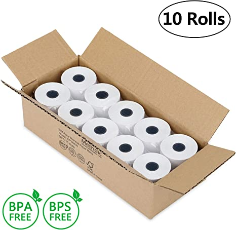 Rollos de papel térmico (57 x 40 cm) 57x50: Amazon.es: Oficina y ...