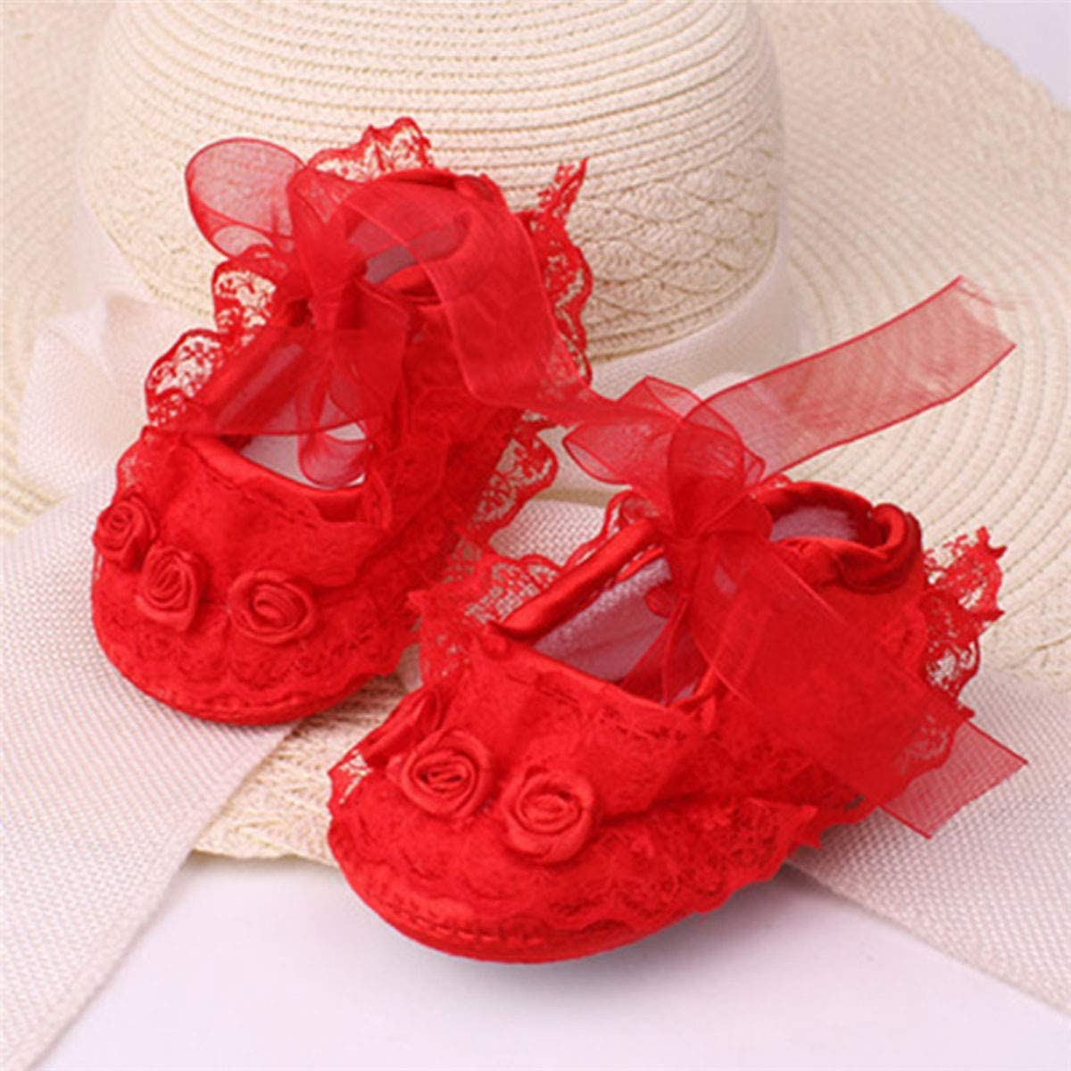 Baby Girls Princess Bowknot Soft Sole Cloth Crib Shoes Sneaker FREE SHIPPING