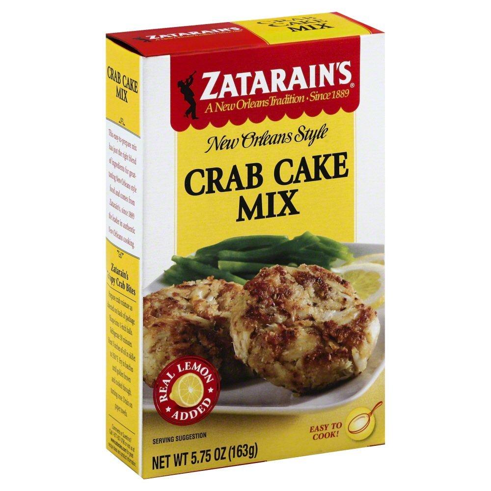 Zatarain's Mix Crab Cake 5.75 OZ(Pack of 2)