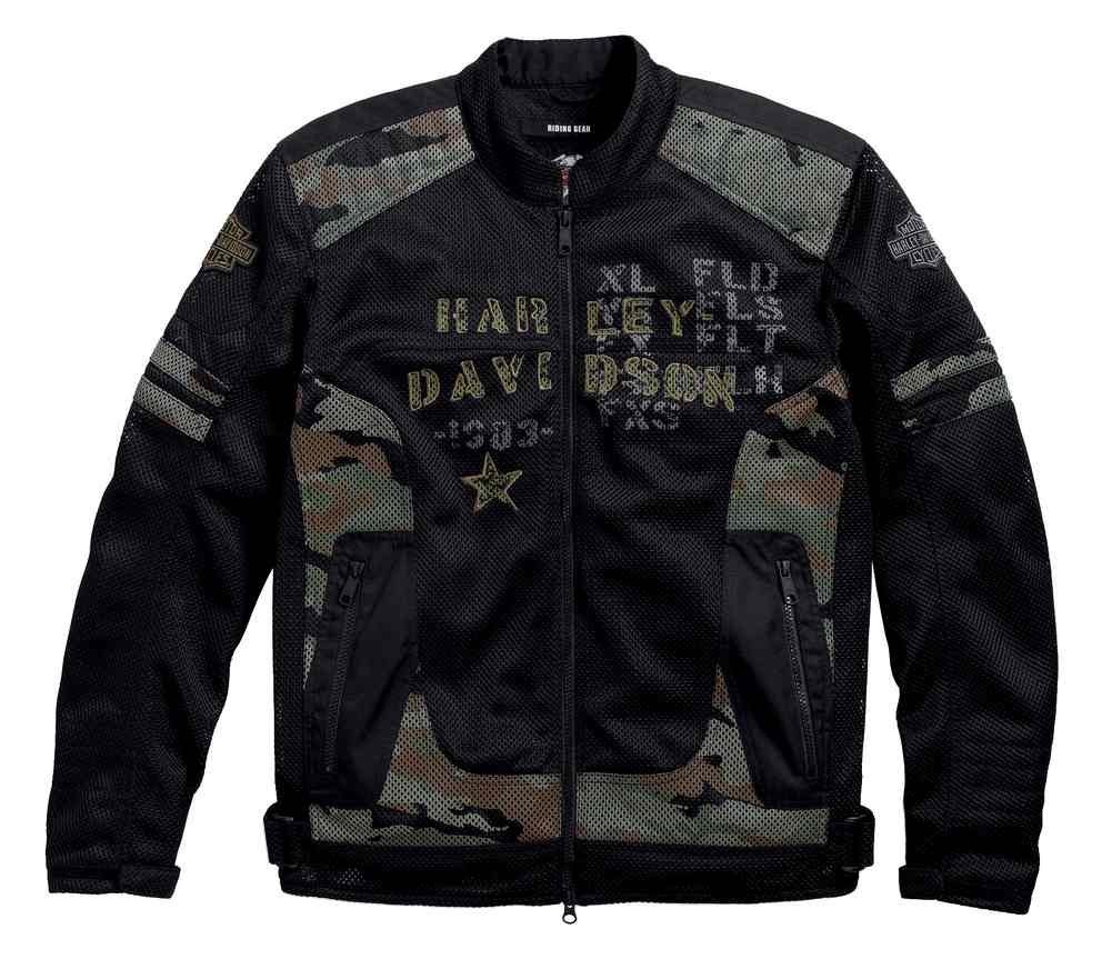 Harley-Davidson Men's Midville Functional Mesh Riding Jacket 97140-17VM (L) by Harley-Davidson