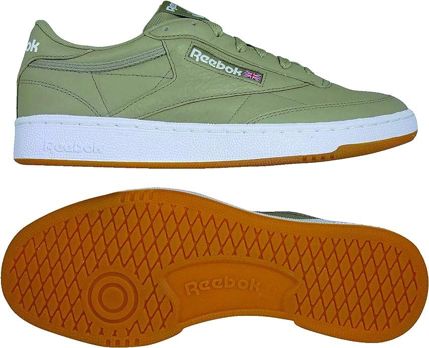 Reebok Club C 85 Sneakers Fitnessschuhe Herren Grün