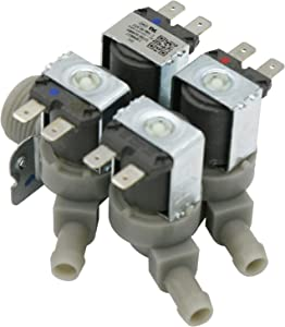 OEM Mania Authorized Factory Replacement 5220FR2008F Washing Machine Water Inlet and Dispenser Valve Compatible with LG